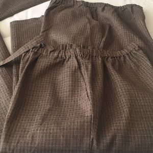 Authentic Jinbei for Men Brown 3 Piece from Japan